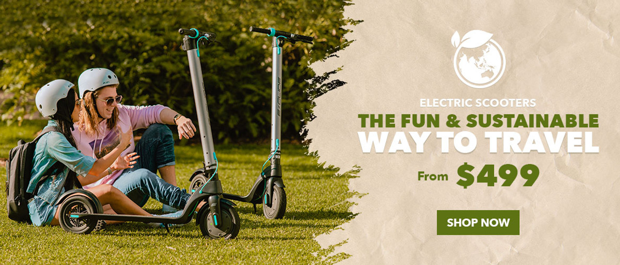 Electric Scooters: The fun & sustainable way to travel