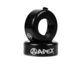 Apex Bar Ends | Pair | Black