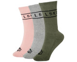 LKI Swing Crew Socks | Mixed | Youth | 3 Pack