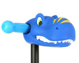 ScootaHeadz Kids Bar Accessories | Timmy T-Rex | Blue