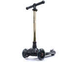 i-Glide Kids 3-Wheel Scooter | Black/Gold Neo
