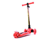 i-Glide Kids 3-Wheel Scooter | Red/Neo-Chrome