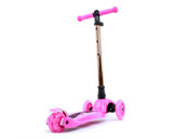 i-Glide Kids 3-Wheel Scooter | Pink/Gold Neo