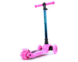 i-Glide Kids 3-Wheel Scooter | Pink/Blue Neo
