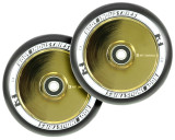 Root Industries AIR 110mm Wheels | Specialty | Black PU | Gold Rush | Pair