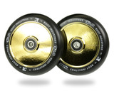 Root Industries AIR Wheels | 24mm x 110mm | Black/Gold Rush