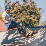 The Evolve STOKE Electric Skateboard A Surf Inspired, Swallow Tail Cruiser!