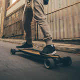Freedom to Surf the Streets! Feel the Difference With the Evolve GTR Bamboo Street Electric Skateboard!