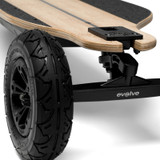The Evolve GTR Bamboo All-Terrain Electric Skateboard Features Adjustable Truck Position for the Ideal Personalised Riding Feel