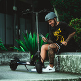 With it's dual 800W motors the Mantis 8 Duo opens the door into the world of Kaabo extreme electric scooters.