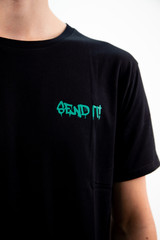 Figz Collection Adult T-Shirt | Send It | Teal