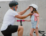 Mini size, mighty strength; The S1 Mini Lifer Helmet exclusively branded for Scooter Hut brings all of the certified, high and multi-impact safety of S1's best selling LIFER helmet and packs it into the perfect fit for younger riders or smaller head shapes.
