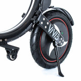 """Vivid Velocity 14 """" Seated Electric Scooter Tyre and Kickstand"""