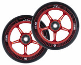 AO Pentacle Wheels | 30mm x 115mm | Fade Red