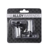 Envy Expandable Alloy Bar Ends | Black