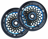Root Industries Lotus Wheels | 24mm x 110mm | Black/Blu-Ray