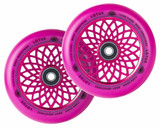 Root Industries Lotus Radiant Wheels | 24mm x 110mm | Pink/Pink