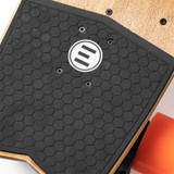 The Evolve STOKE Electric Skateboard Features A Surf Inspired EVA Foam Kick-Tail Pad for Extra Pop
