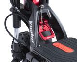 Kaabo WOLF KING 11 72V Electric Scooter Folding Mechanism
