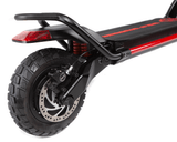 The Kaabo Wolf Warrior X Pro Electric Scooter Features Colour Changing LED Deck Lights