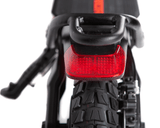 The Kaabo Wolf Warrior X Pro Electric Scooter Features Full Hydraulic Front & Rear Disc Brakes w/ e-ABS