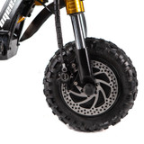 Kaabo WOLF KING 11 GOLD EDITION 72V Electric Scooter front disk brake