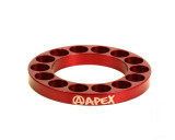 Apex 5mm Bar Riser | Red