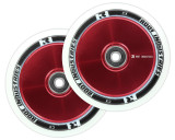 Root Industries AIR Wheels   24mm x 110mm   White/Red
