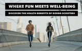 Where Fun Meets Well-being : Discover The Health Benefits Of Riding Scooters