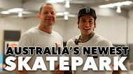 Australia's Newest Skatepark | Level Up
