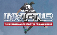 New Invictus 2: Lighter and high-performance pro scooter