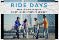 Your chance to try an electric scooter before you buy!