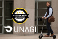 UNAGI ONE Wins the Title of  The Best Electric Scooter of 2020*