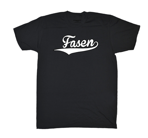 Fasen Logo T-Shirt | Black