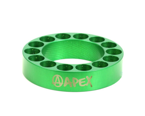 Apex 10mm Bar Riser | Green