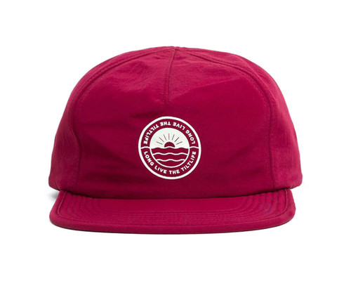 Tilt Great Lakes Relaxed Snapback | Wine