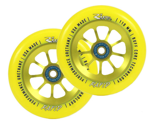 Rapid 110mm Wheels | Sunrise | Pair