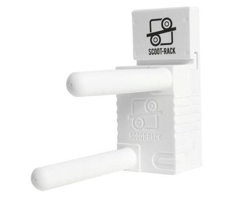 Wall Mount Scooter Stand   White