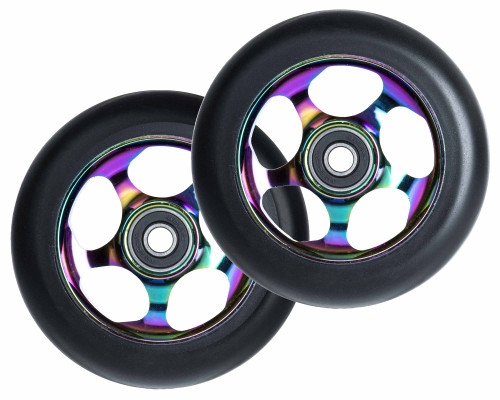 Root Industries Re-Entry Wheels | 24mm x 100mm | Black/Rocket Fuel