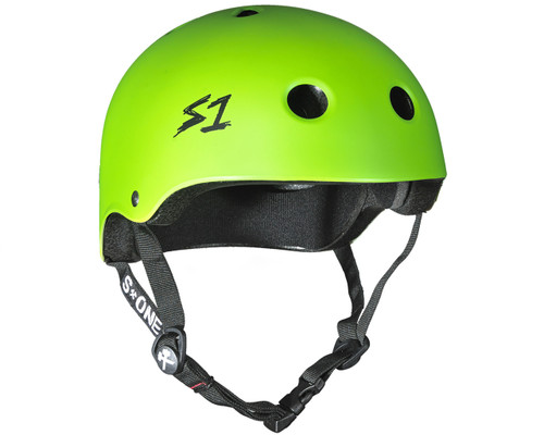 S1 LIFER Certified Helmet | Bright Green Matte