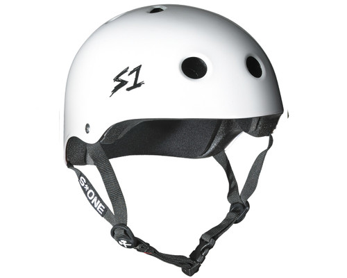 S1 LIFER Certified Helmet | White Gloss