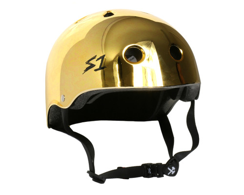 S1 LIFER Certified Helmet | Gold Mirror