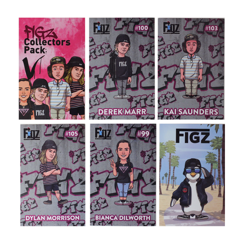 Figz Collection Stickers | Collectors Pack 5