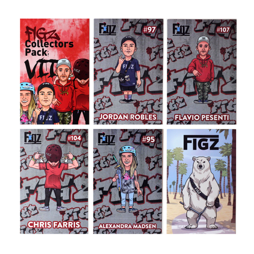 Figz Collection Stickers | Collectors Pack 7