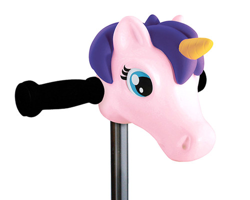 ScootaHeadz Kids Bar Accessories | Bella Unicorn | Pink