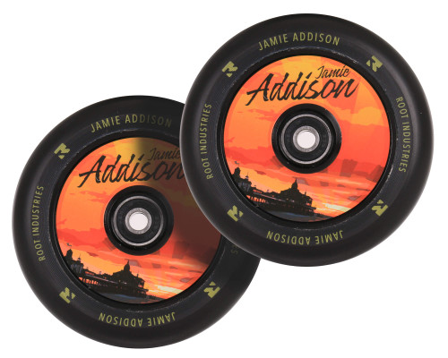 Root Industries AIR 110mm Wheels | Signature | Jamie Addison Sunset | Pair