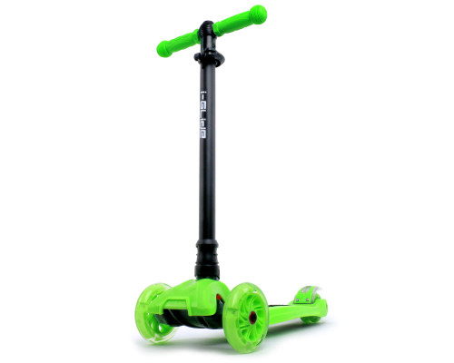 i-Glide Kids 3-Wheel Scooter | Green