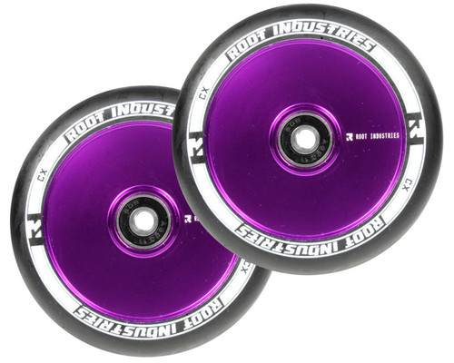 Root Industries AIR Wheels | 24mm x 110mm | Black/Purple