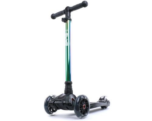i-Glide Kids 3-Wheel Scooter | Black/Neo-Chrome