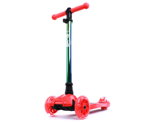 i-Glide Kids 3-Wheel Scooter | Red/NeoChrome